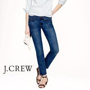 J. Crew Matchstick Stretch Medium Wash Jeans 29S